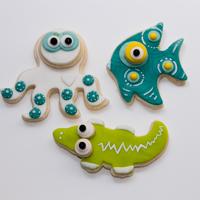 Fête d'enfants à domicile - Biscuits