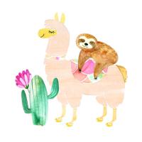 Lama-Drôles de bêtes